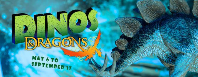 Dinos & Dragons Exhibit at Brookfield Zoo - Image