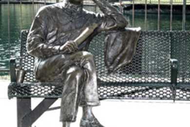 Kirkman Finlay Statue at Finlay Park