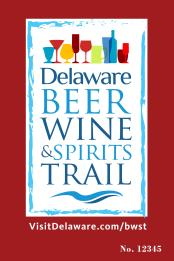 Delaware Beer Wine and Spirits Trail Sign