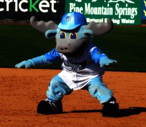 Wilmington Blue Rocks-Rocky Bullwinkle