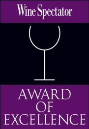 Wine Spectator Award of Excellence Logo