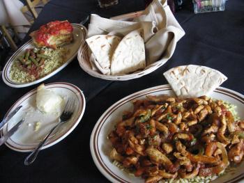 Mediterranean Grill food