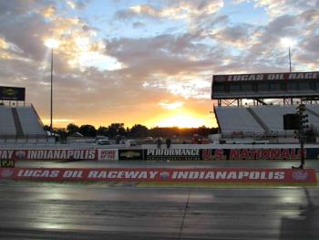 Run under the lights at Lucas Oil Raceway!