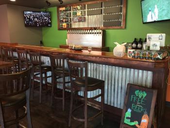 Brew Link's bar