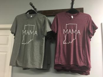 Indiana Mama shirts at Tiffany's Boutique