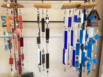 These windchimes at The Artisan Marketplace come in all kinds of themes: pets, winter, spring, nature and more.