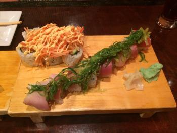 Delicious sushi rolls!
