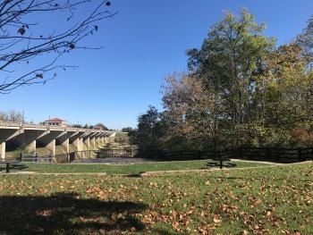 Glick Park fall