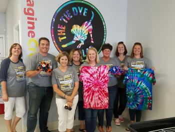 Visit Hendricks County staff retreat at The Tie Dye Lab