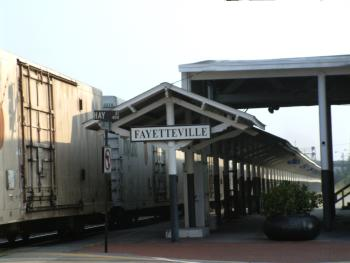 Amtrack and Historic Train station