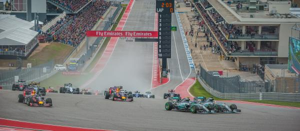 2015 F1 USGP Circuit of The Americas track