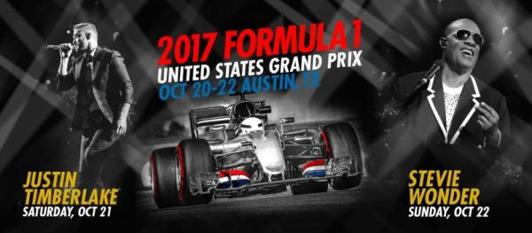 F1 2017 event flyer