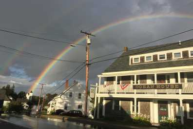 Rainbow at Hotel