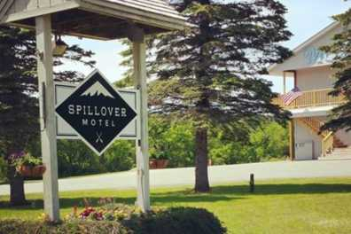 Spillover Motel sign