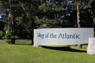 campus entry sign