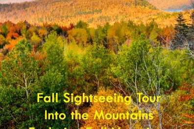 Into The Mountains Fall Sightseeing Tour