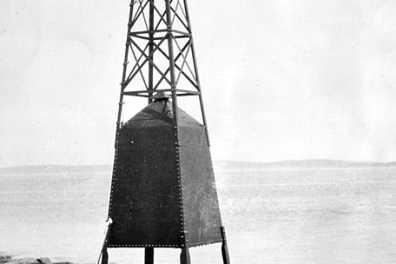 Blue Hill Bay Light skeletal structure