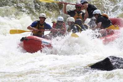 Penobscot River Rafting