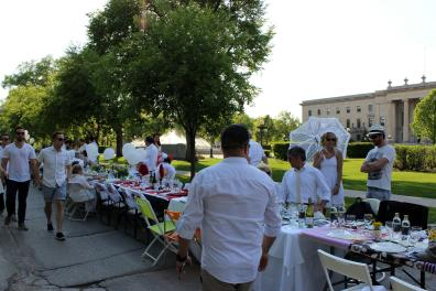 A Winnipeg Whiteout for Table for 1201.