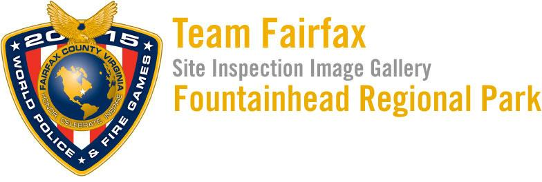 2015 World Police & Fire Games Site Inspection: Fountainhead Regional Park Image Gallery Header