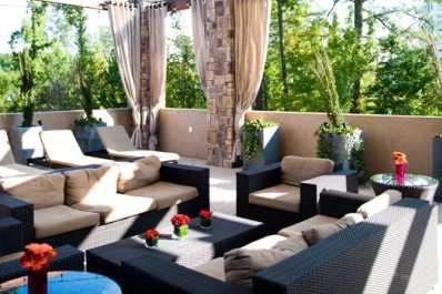 Flight Deck:  Outdoor Patio for Events