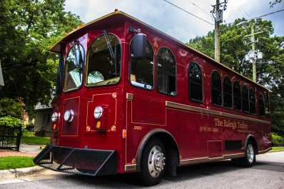 Historic Raleigh Trolley