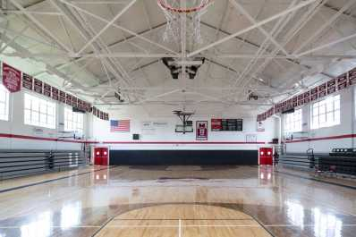 C.C. Spaulding Gym at Shaw University