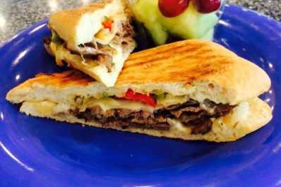 Daily Planet Cafe Steak Sandwich