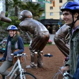 Cycle City Tours - Amazing Laughter Public Art