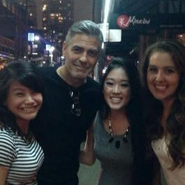 George Clooney in Vancouver