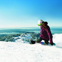 Grouse Mountain Snowboard