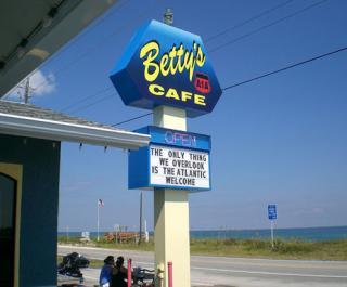Betty's A1A Cafe