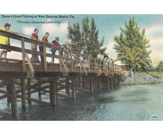 Echo Gallery New Smyrna Beach Postcard
