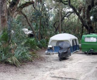 Tomoka State Park Camping Site