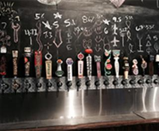 Daytona Taproom bar