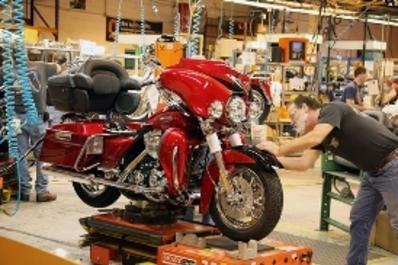 York Harley Davidson Factory Tour