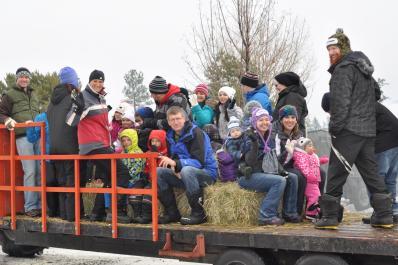 Hay Wagon Ride