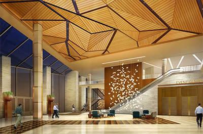 Ballroom Event Center Lobby