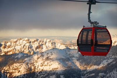 Mt. Rainier Gondola to Summit House
