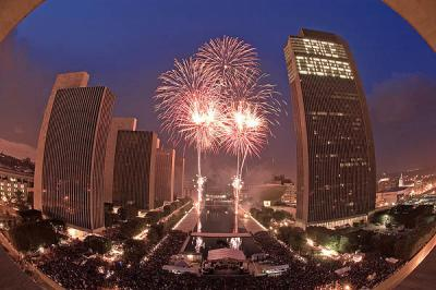 Empire State Plaza Fireworks