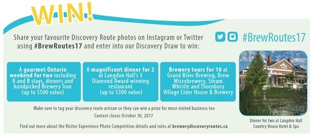 Brewery Routes Contest