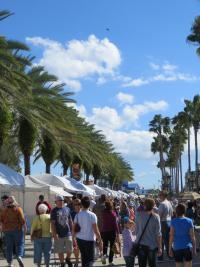 Halifax Art Festival on Beach Street in Daytona Beach