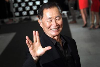 George Takei April