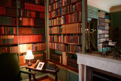 Library at George Eastman Museum by the Rochesteriat