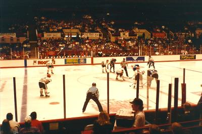 Fort Worth Fire vs, Wichita Thunder