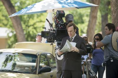 Better Call saul filming