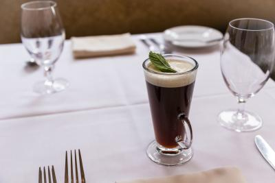 Mint Irish Coffee
