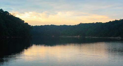 Copy of Lake Griffy - sunset