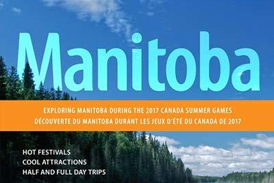 The cover of Manitoba's Canada Summer Games Guide 2017