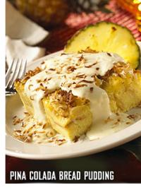 Recipe: Bahama Breeze's Piña Colada Bread Pudding